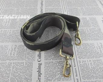 "62"" long Adjustable Cotton Webbing Bag Purse Strap"