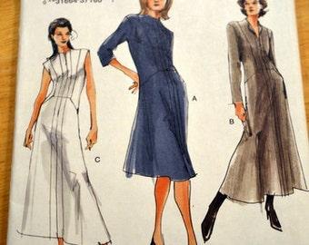 Vogue 7794, Misses' Dress, cut to size 16.