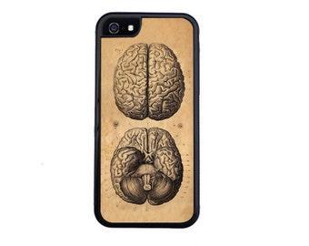 Brains! Vintage Medical Illustration Case Design Choose iPhone 4 / 4s, 5 / 5s, 5c, 6 / 6s, 6 Plus / 6s Plus.