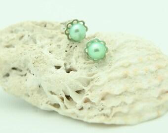 Earrings Pearls Sterling Silver 925