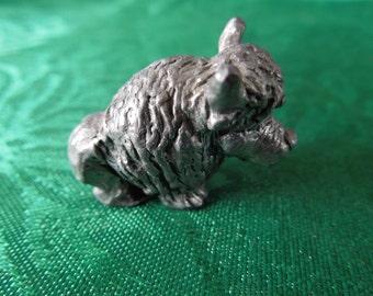 Miniature Metal Animals, Lot of 2