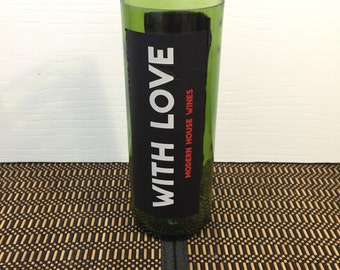 Wine Candles With Love Handmade Recycled Gift Choose Scent