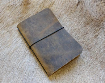 Crazy Horse Simple Notebook Cover