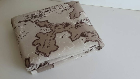 Wholesale map fabric maps print fabric map of the world like this item gumiabroncs Images