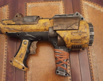 STEAMPUNK gun, Nerf Hyperfire toy gun ! For cosplay