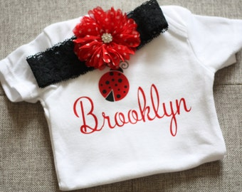 Ladybug Newborn Onsie, Coming home outfit