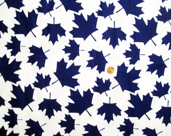 "Canada Maple leaves - Blue - Bigger leaves x 1  /  ( 20"" x 18"")"