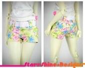 BJD MSD 1/4 Doll Clothing - Short Shorts - Sprint Floral - LIMITED