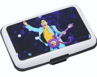 Aluma Wallet Credit Card Holder With Prince Image