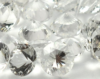 Herkimer Diamond Quartz Crystal Faceted Gemstone NY 5mm Round