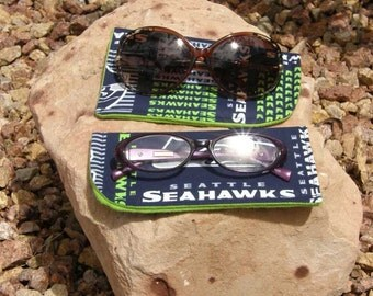 Seattle Seahawks Eyeglass/Sunglasses Case