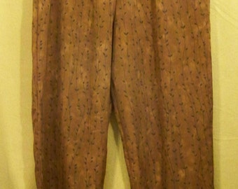 Chocolate With Black Pants - Size XL - Red Dirt Girl - 279
