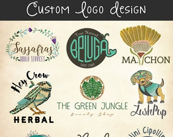 Custom Logo Design - Professional Branding Company Business Logo Graphic Design Service
