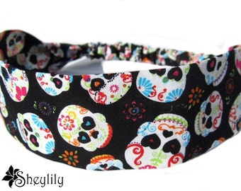 Day of the Dead Headband for Ladies, Women, Teens, Made to Order