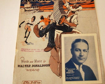 Antique Sheet Music, Sam, The Old Accordion Man