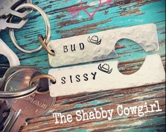 Urban Cowboy Bud & Sissy Charms