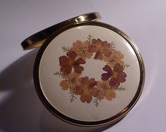 Vintage compact mirrors something old bridesmaid gifts 1950s powder compacts