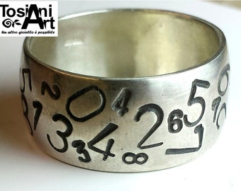 Ring with random numbers