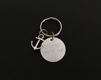 Personalized Aluminum Key Chain. Create Your Own Key Chain. Customized Name Key Chain.Message Key Chain.Friendship Gift. Stocking Gift.