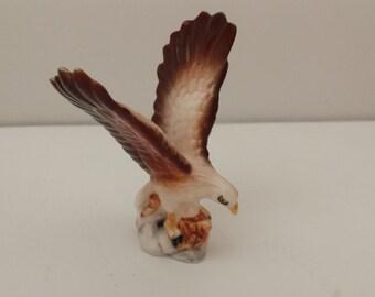 Miniature Bone China  Eagle