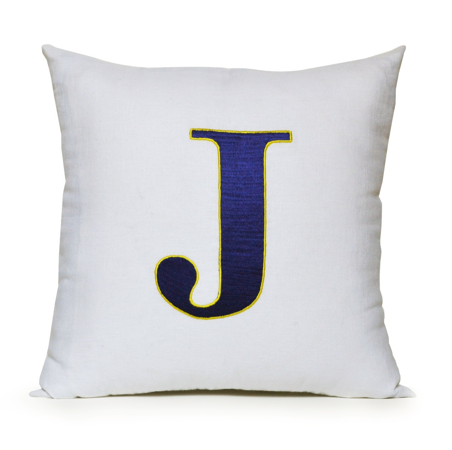 Monogram Pillow Cover Kids Monogram Pillow Boys Room Pillow