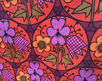 "Sundour ""Calvados"" pattern cotton panels"
