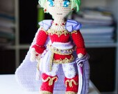 Terra Branford crochet doll - Made to Order -Free shipping US featured image