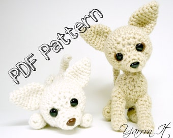 Sugar and Ginger- Chihuahuas-  PDF Crochet pattern
