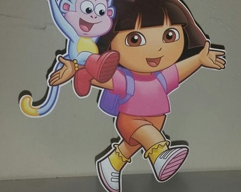 Dora Birthday Centerpiece