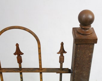 """3""""sq Wrought Iron Abilene Fence Post for Fencing and Gates Support"""