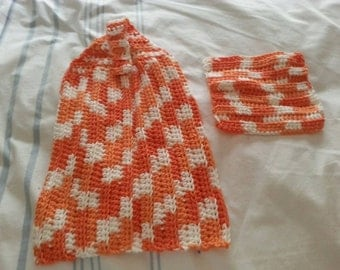 Dish towel and dish cloth