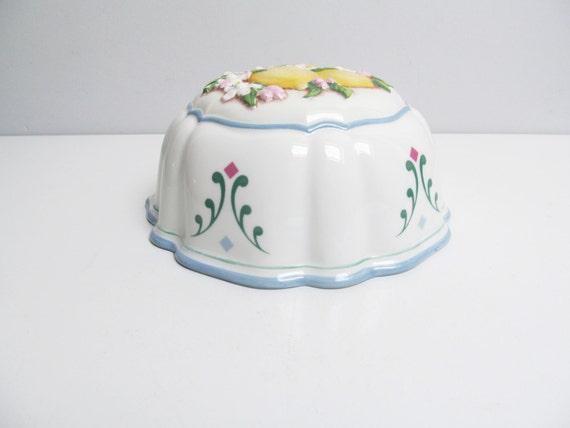 Vintage Porcelain Jelly Kitchen Molds Kitchen Decoration