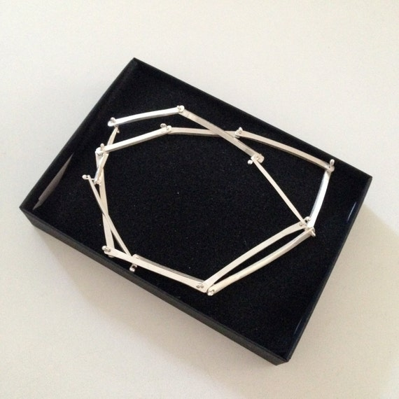 Necklace - Hand-forged Sterling Silver