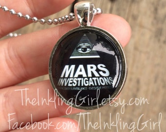 Mars Investigations PI Veronica Mars Pendant Necklace