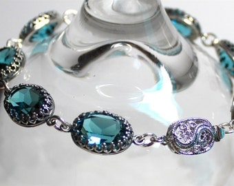 Indicolite Bracelet Set