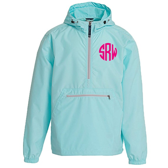 Personalized Unisex Aqua Pack and Go Windbreaker Rain Jacket