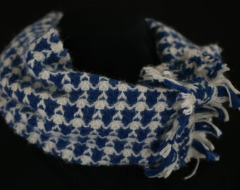Handwoven Alpaca infinity scarf
