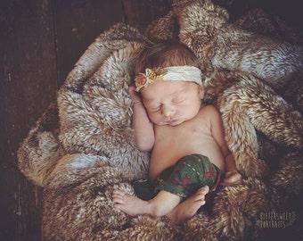 Newborn fall headbands