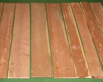Eastern Red Cedar boards - 19 pcs. Total - Item #16007