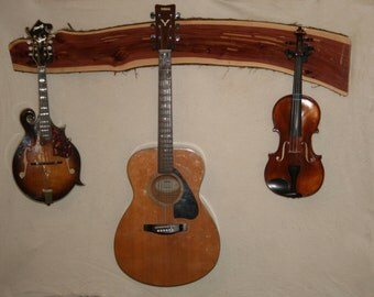 Eastern Red Cedar Instrument Hanger - Item #16001