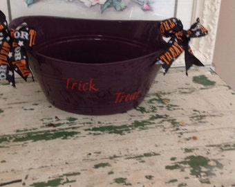 trick or treat bucket
