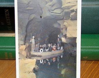 SALE Vintage Postcard, Lagoon of Venus, Howe Caverns New York 1930s Paper Ephemera