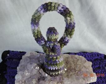 Crochet Goddess Statue