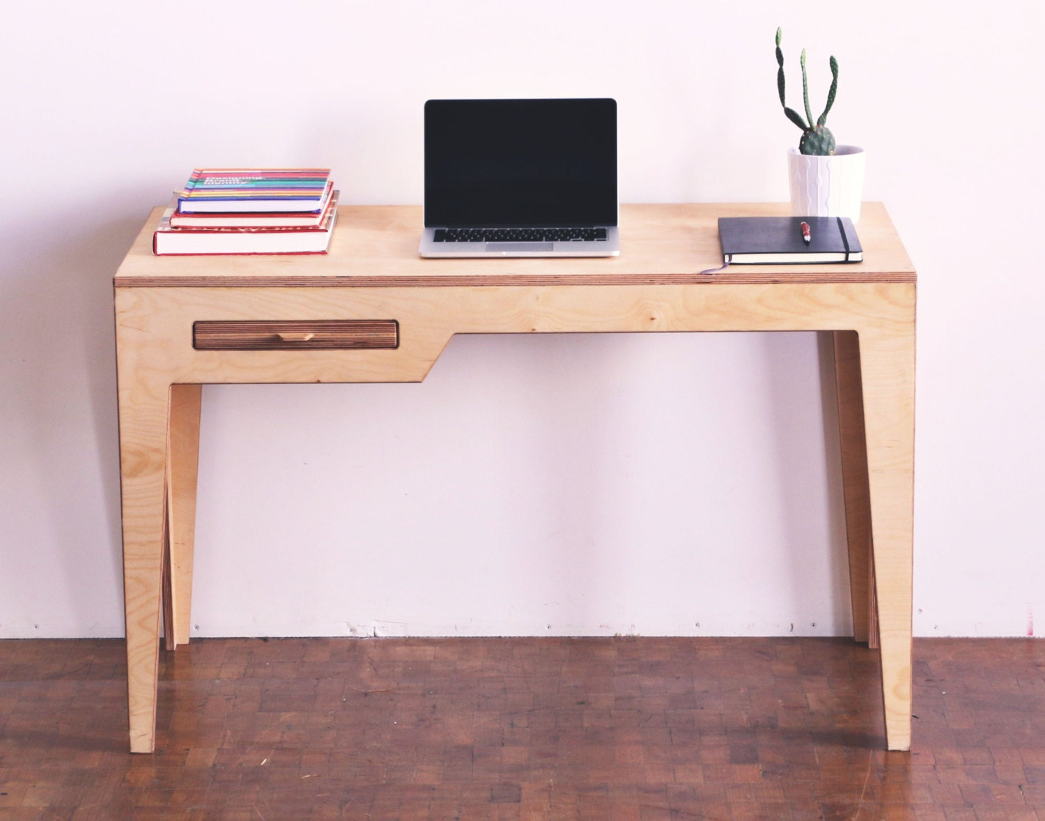 Desk minimalist desk wood desk for Minimalist desk