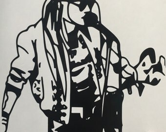 Guns N Roses Inspired Axl Singing Decal