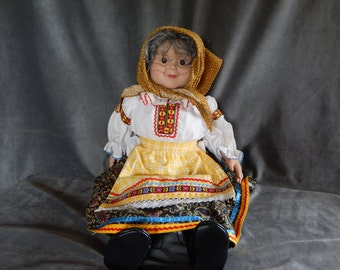 Vintage Grannyworld Polish Grandmother Doll