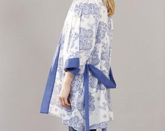Santorini Short Kimono