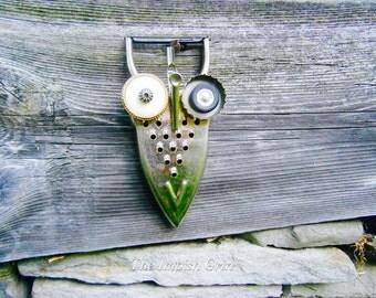 Repurposed Recycled Owl Maxwell Hootenanny