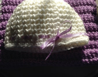 Crocheted Baby Hat