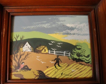 Margo Alexander of California Listed Artist Three Signed and Framed Prints